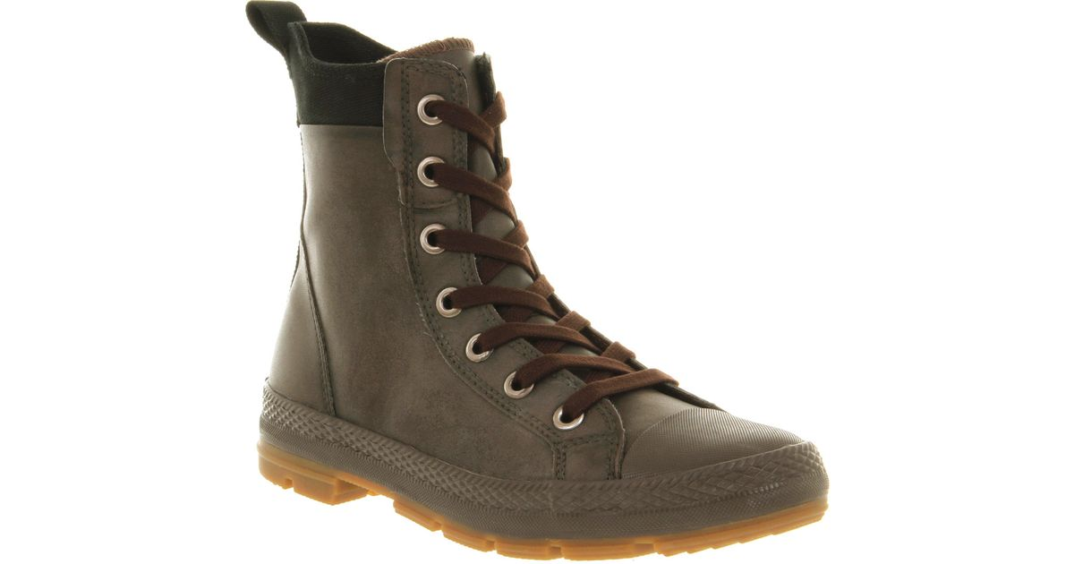 b0d34b820df5 Lyst - Converse Sargent Mens Boots in Brown for Men