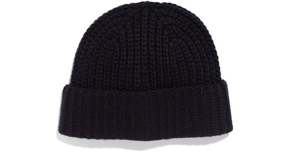 Lyst - Madewell Winter Hat in Black eaf86f888f2