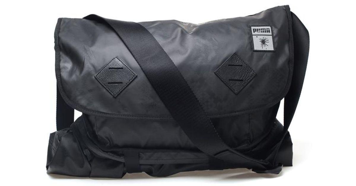 daf7551eeb PUMA Transformable Snake Printed Utility Bag in Black for Men - Lyst