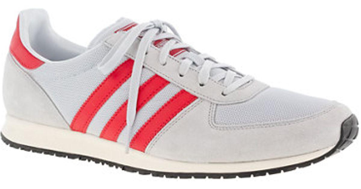 Lyst - J.Crew Adidas Adistar Racer Sneakers in Gray for Men 44d649b6c