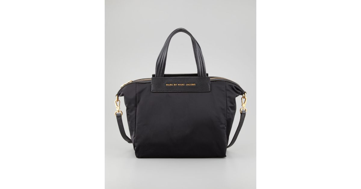 Lyst Marc By Jacobs Jewel Of The Nylon Crossbody Bag Black In