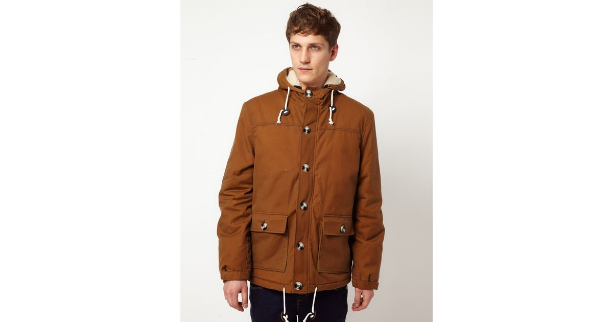 7a68b9bb8f2 Lyst - Suit Classic Fisherman Jacket in Brown for Men