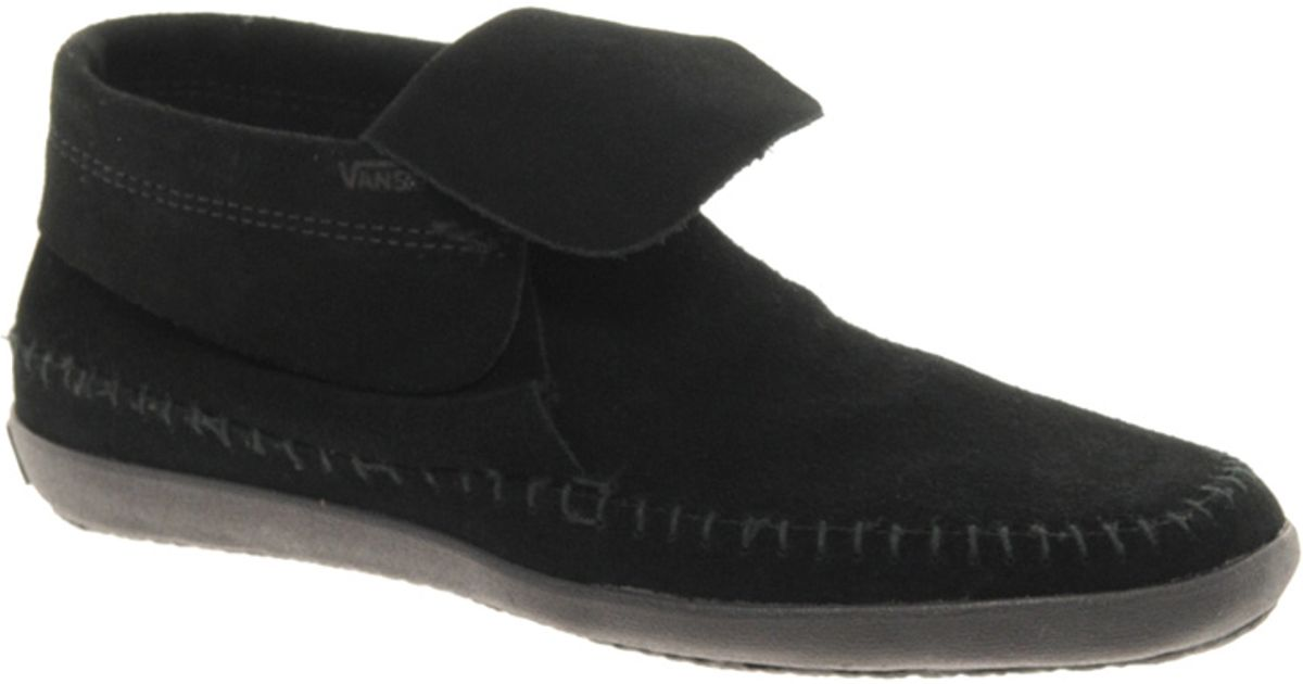 465f57542d5ec2 Lyst - Vans Surf Mohikan Black Ankle Boots in Black