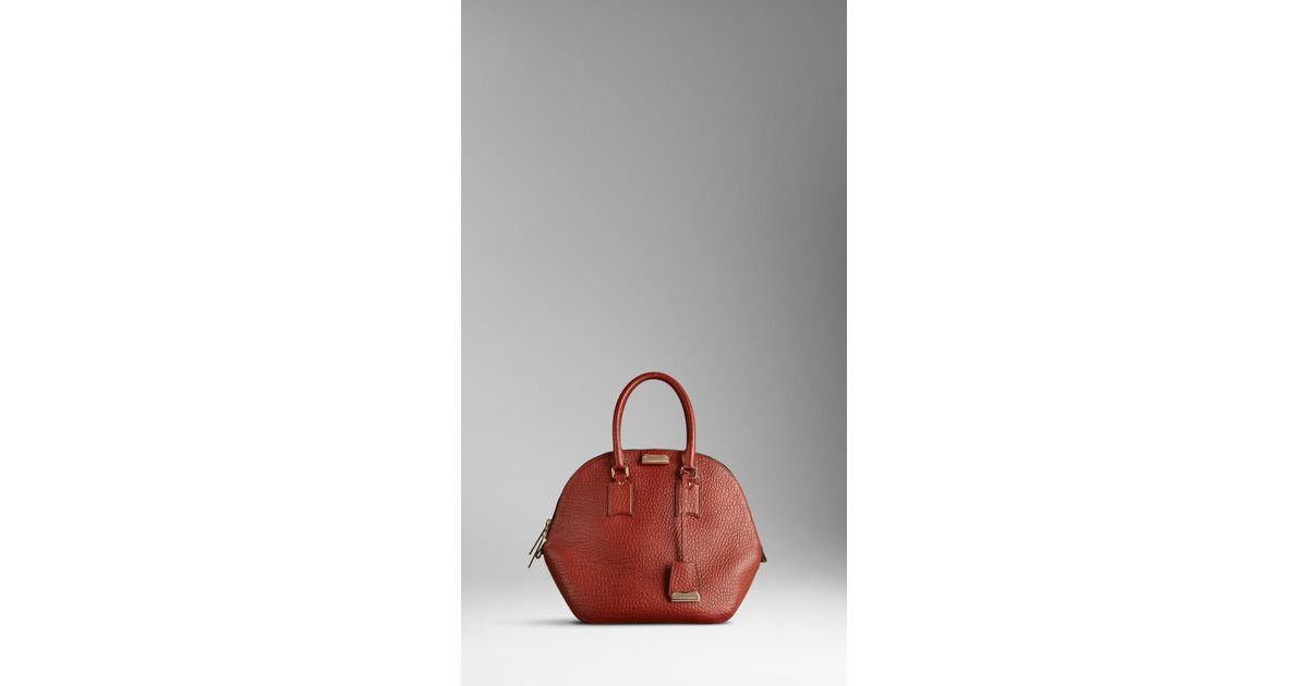 a82cd88e19e4 Lyst - Burberry The Orchard in Heritage Grain Leather in Brown