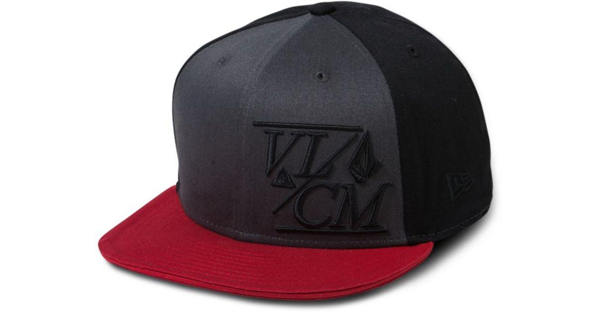 a0b697f9935 2dd01 69b5d  where to buy lyst volcom new era 8fifty snap back hat in black  for men b20fa