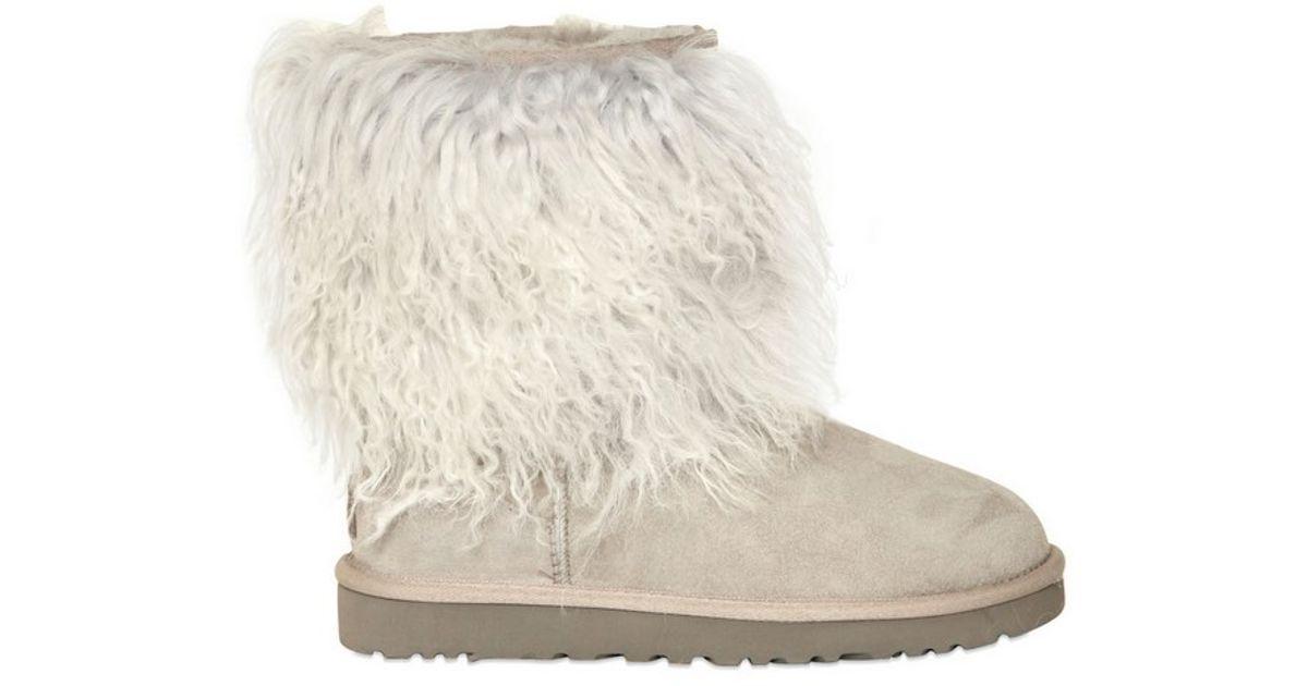 Ugg beige shearling boots W0AMm