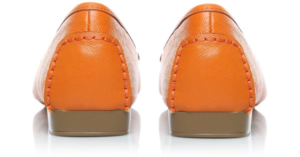 96194b0cde8 MICHAEL Michael Kors Hamilton Loafer in Orange - Lyst