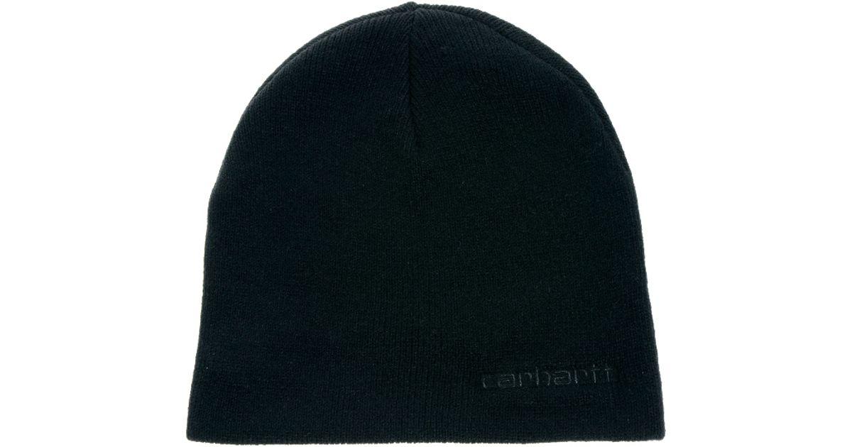 Lyst - Carhartt Simple Beanie in Black for Men 74f0ecdd701