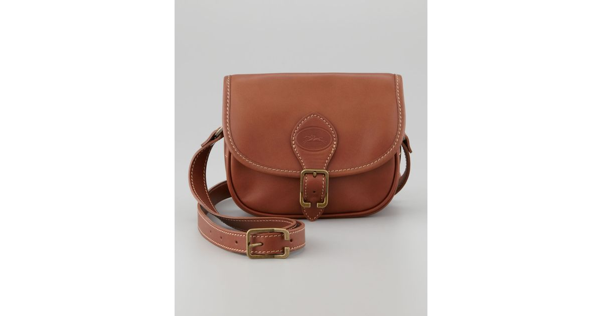 19e0f55117ae Lyst - Longchamp Cross-Body Bag in Brown