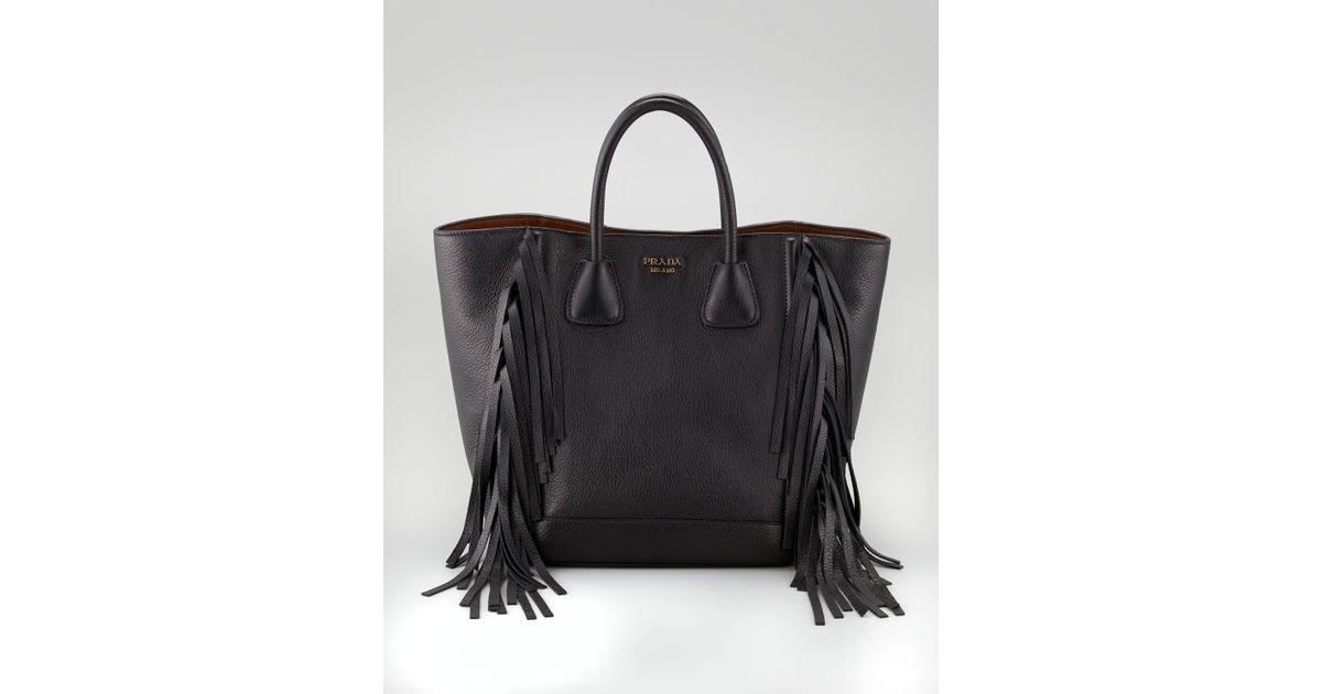 prada fringe purse