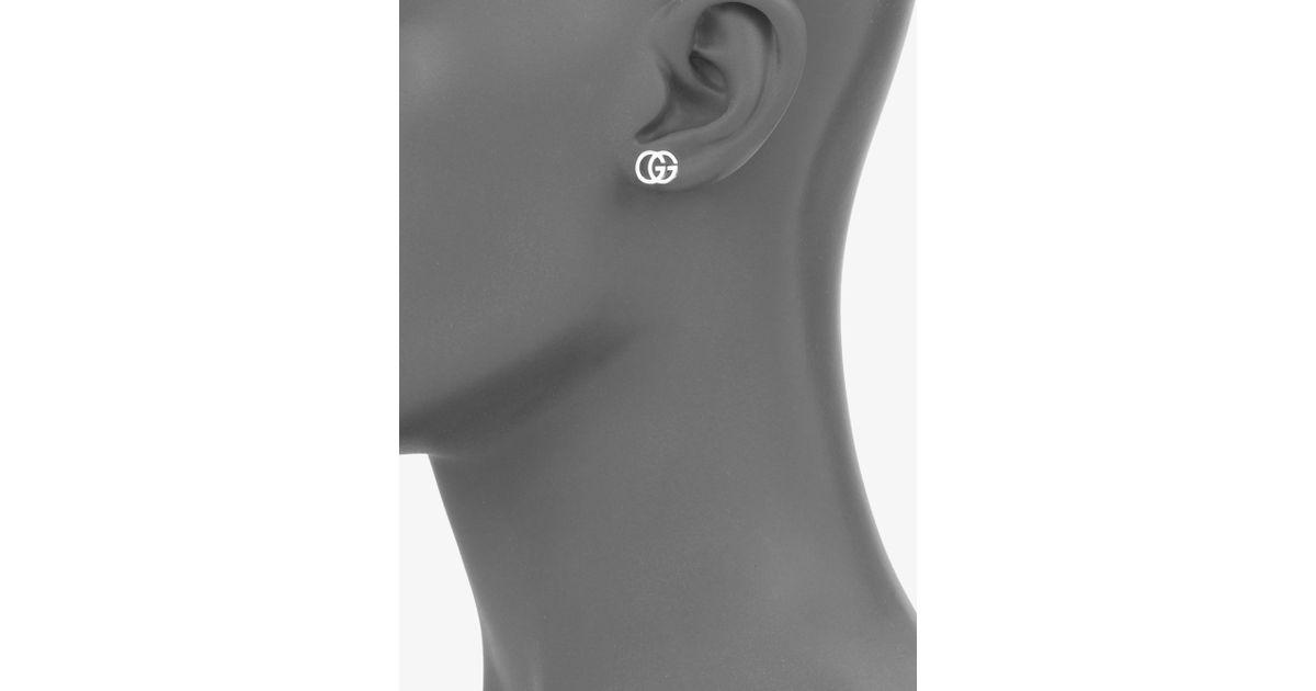 20008bd8c Gucci Double G Earrings Silver - Best All Earring Photos Kamilmaciol.Com