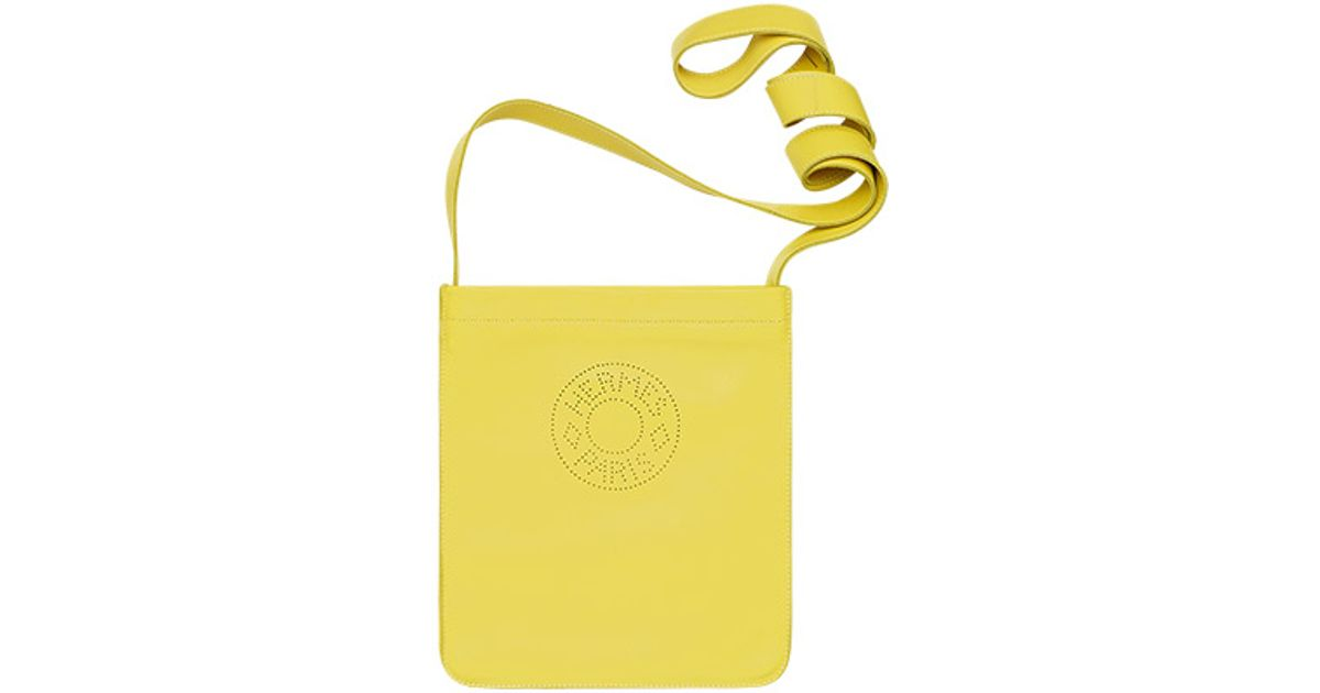Herm��s Clou De Selle Bag in Green (yellow2) | Lyst
