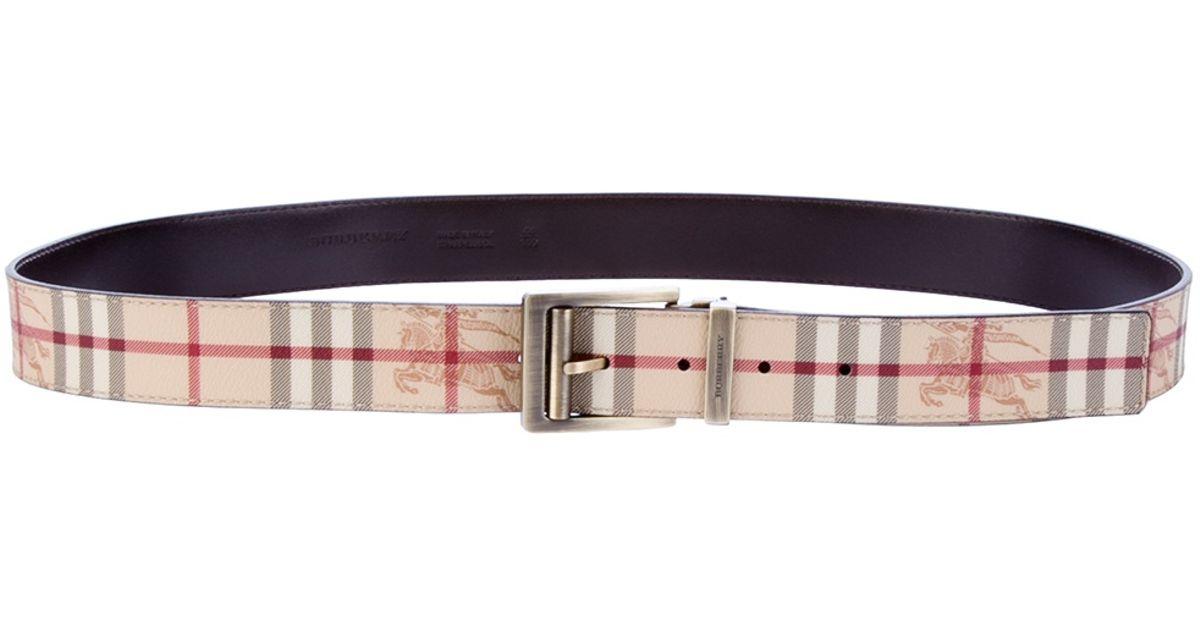 check belt Burberry LMLNFaTOv