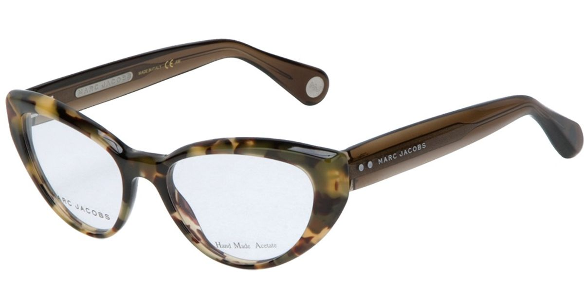 13c0f3868d7 Lyst Marc Jacobs Cat Eye Glasses In Green. Womens marc by jacobs 571 lq1 54  15 s favorably ...
