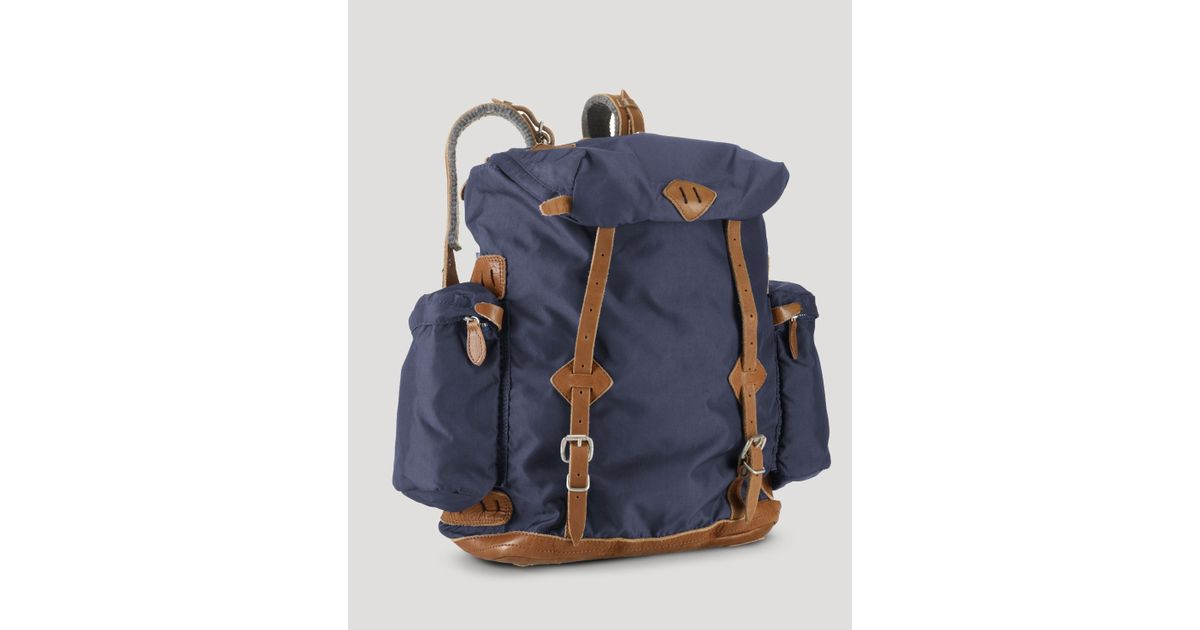 Lyst - Ralph Lauren Polo Yosemite Canvas Backpack in Blue for Men f466699c1c7bf