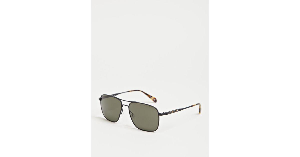 46c51d6af8 Lyst - Oliver Peoples Linford Sunglasses in Black for Men