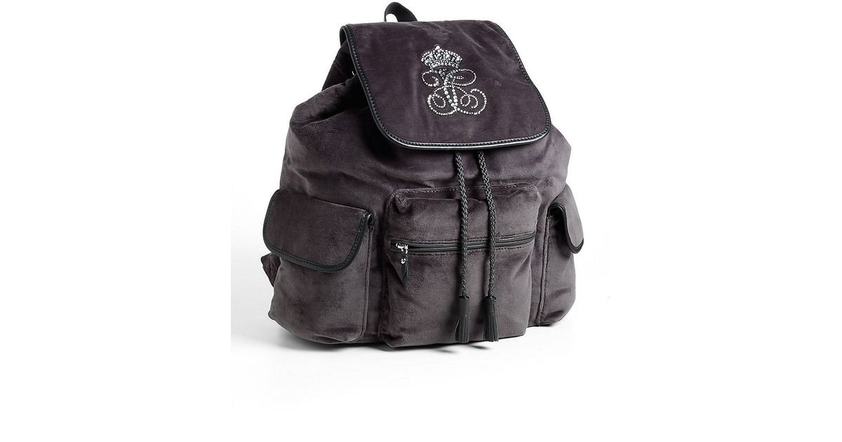 83adf858736 Juicy Couture All Hail Trinity Backpack in Gray - Lyst