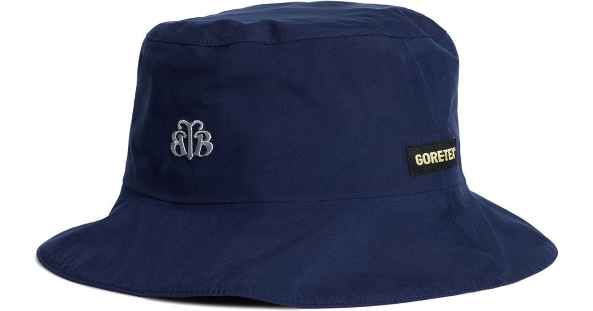 Lyst - Brooks Brothers Zero Restriction Bucket Hat in Blue for Men 07659ddaad07