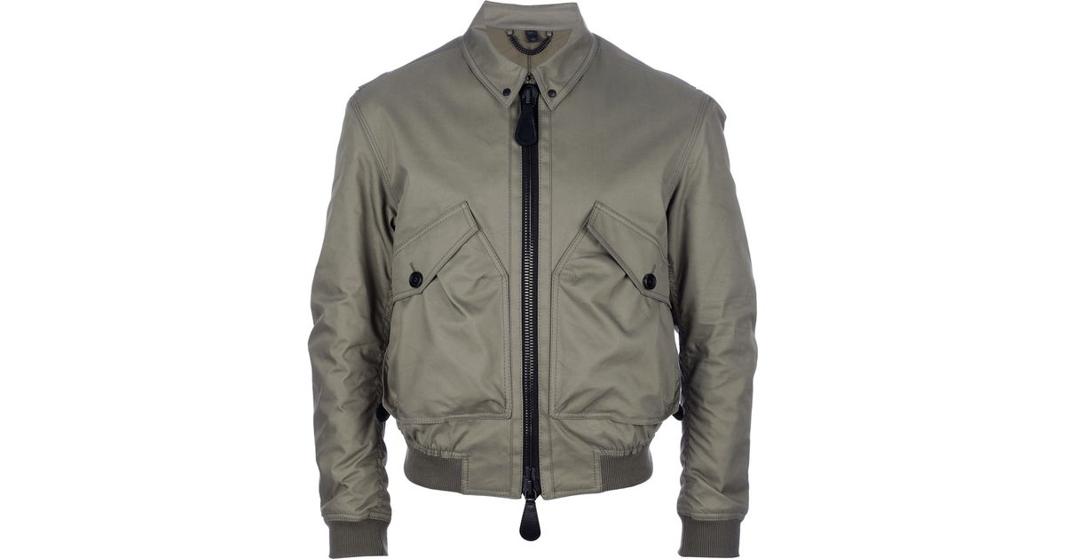 Jacket For In Men Lyst Burberry Prorsum Natural Bomber wqztzvY