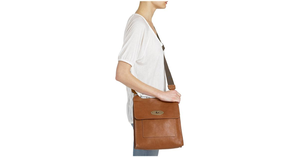 Mulberry Antony Messenger in Brown for Men - Lyst 634d58aa030c8