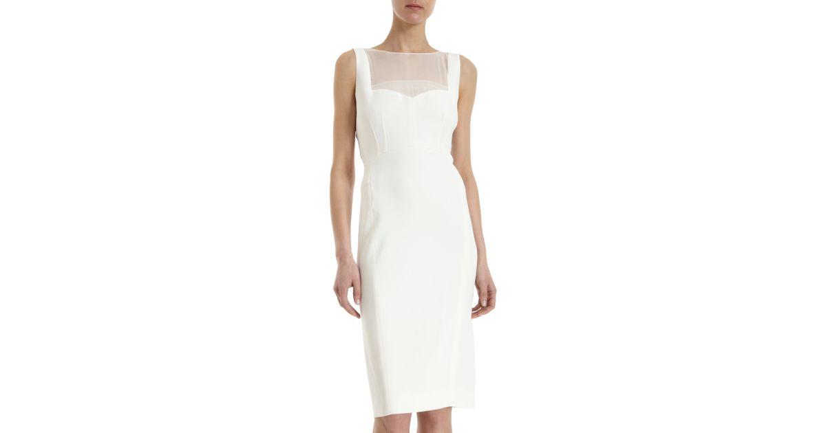 Sheer Sleeveless Dress