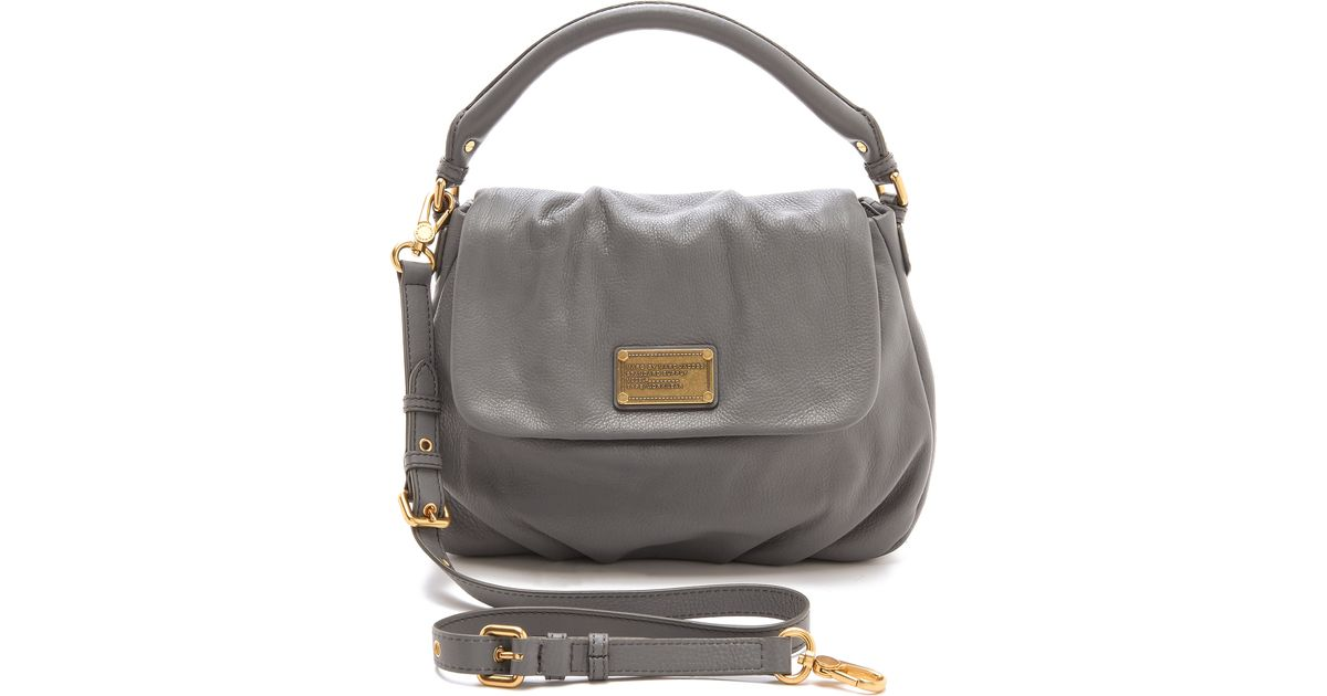 c594471505 Marc By Marc Jacobs Classic Q Lil Ukita Bag in Gray - Lyst