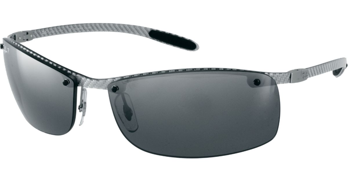 Lyst   Ray Ban Rimless Sunglasses In Gray For Men