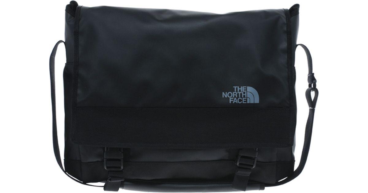 The North Face Schoudertas Base Camp Messenger Bag : Lyst the north face base camp messenger bag in black for men