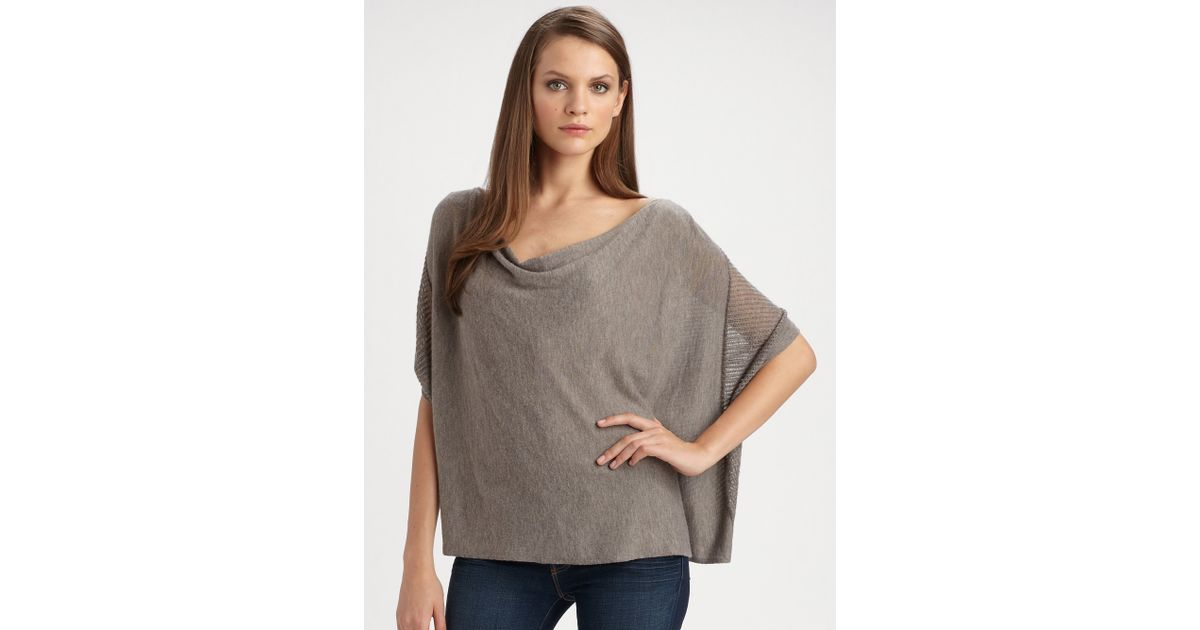 664bf4f95a29c9 Lyst - Ella Moss Adeline Dolman Sleeve Sweater in Natural
