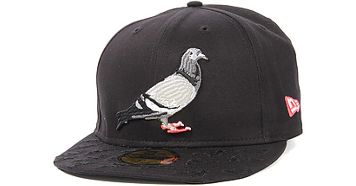 546e06ae52942 Lyst - Staple The Multi Pigeon Fitted Hat in Black in Black for Men