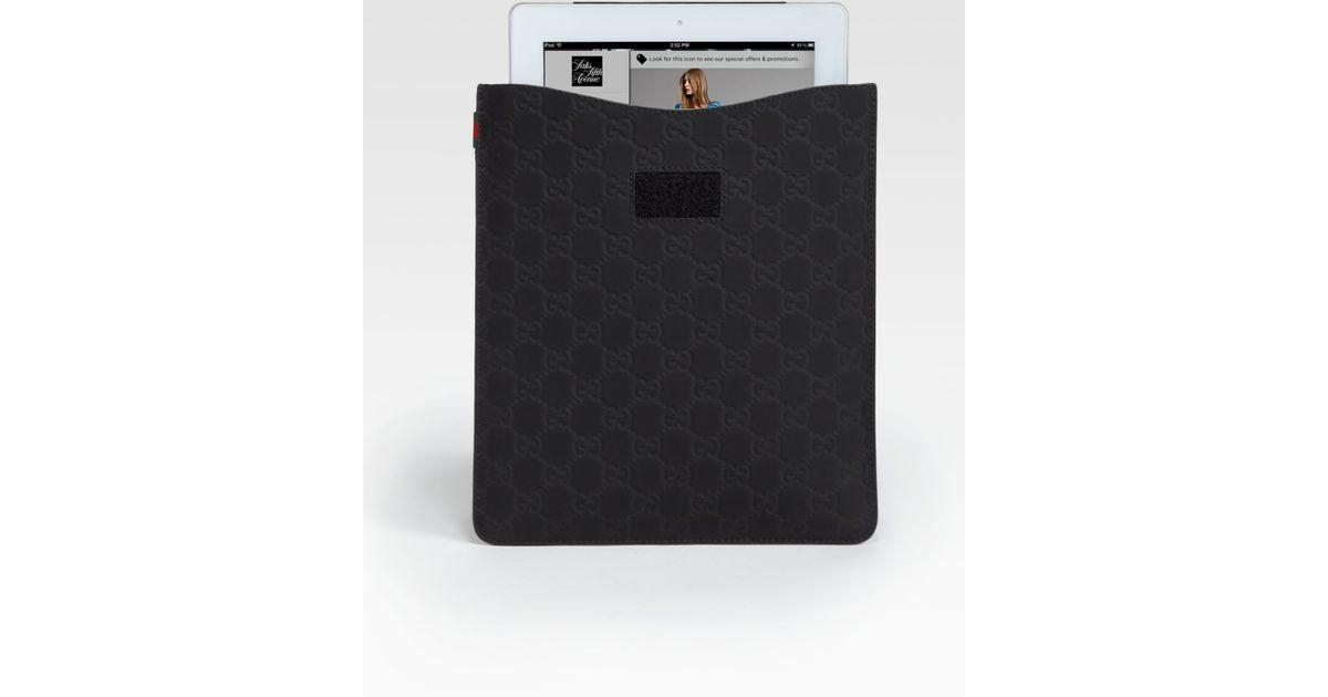 c541c55f631 Lyst - Gucci Microguccissima Ipad Case in Black for Men