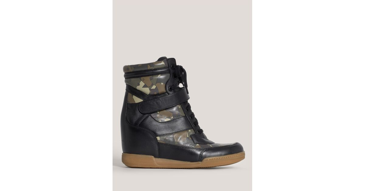 92124be4c694 Lyst - Marc By Marc Jacobs Army Wedge Sneakers