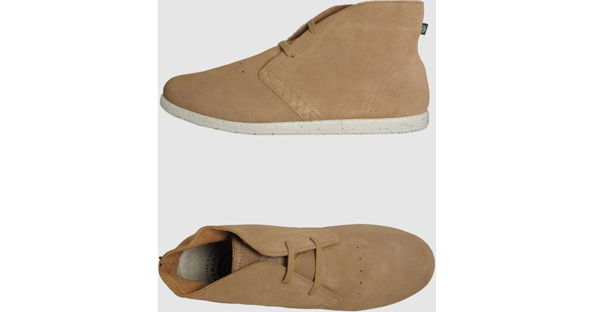 Element High-top Dress Shoe in Brown for Men (light brown ...