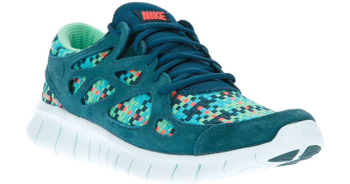 promo code ae5ed bc8a6 Lyst - Nike Free Run 2 Woven Trainer in Green for Men