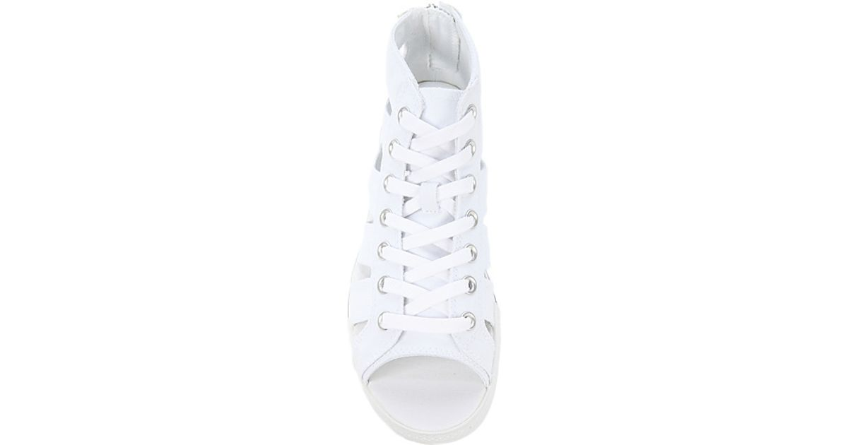 Lyst - Converse The Chuck Taylor All Star Gladiator Sandal in White in White b787ab9a1