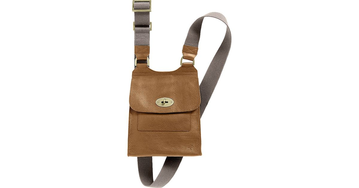 5e6d3f04151 Mulberry Antony Small Messenger in Natural for Men - Lyst