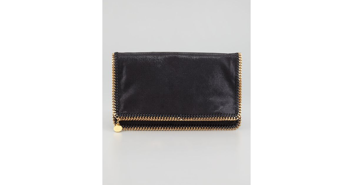 Stella McCartney Black Falabella clutch bag 9mWWjI