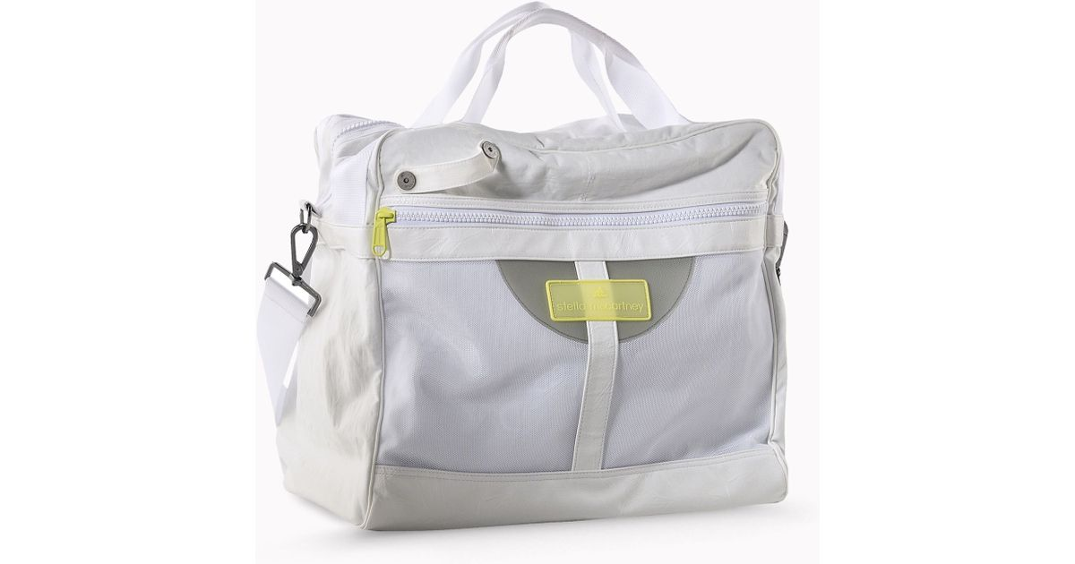 2df8bcc9cc Lyst Stella Mccartney Tennis Bag In White