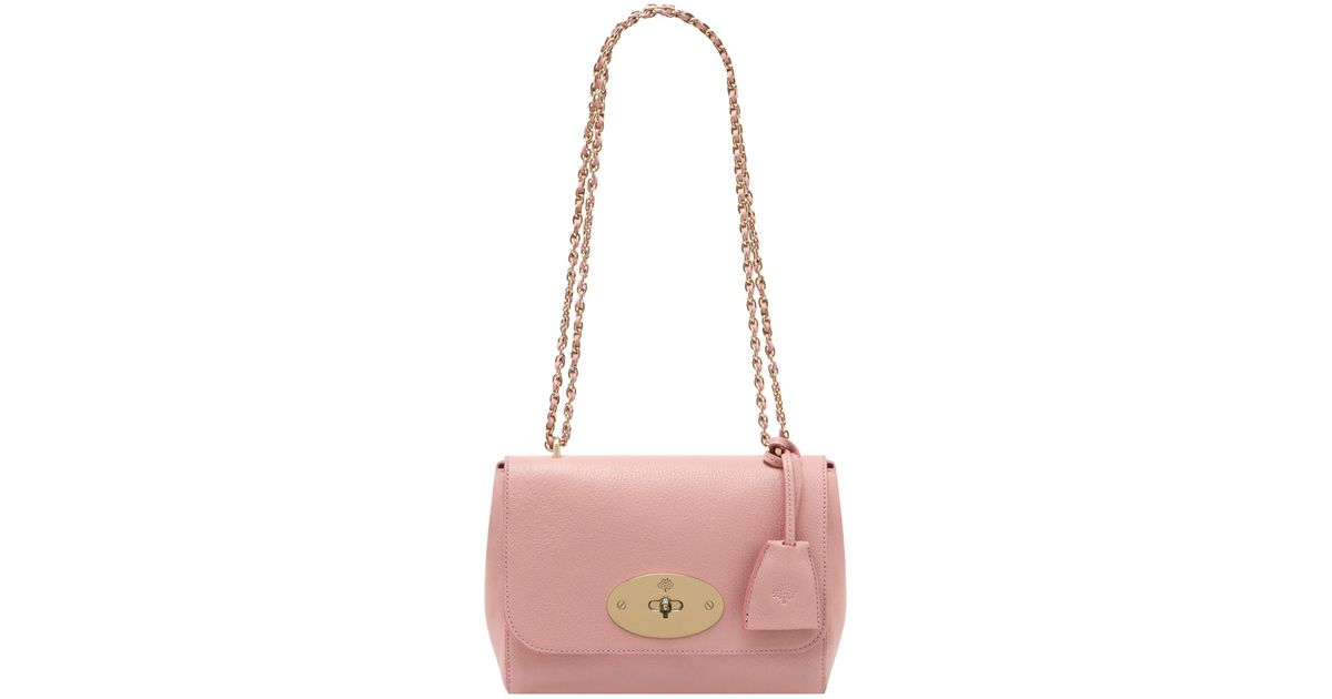 e7815673fa ... promo code for lyst mulberry small lily shoulder bag in pink 831f9 a044b