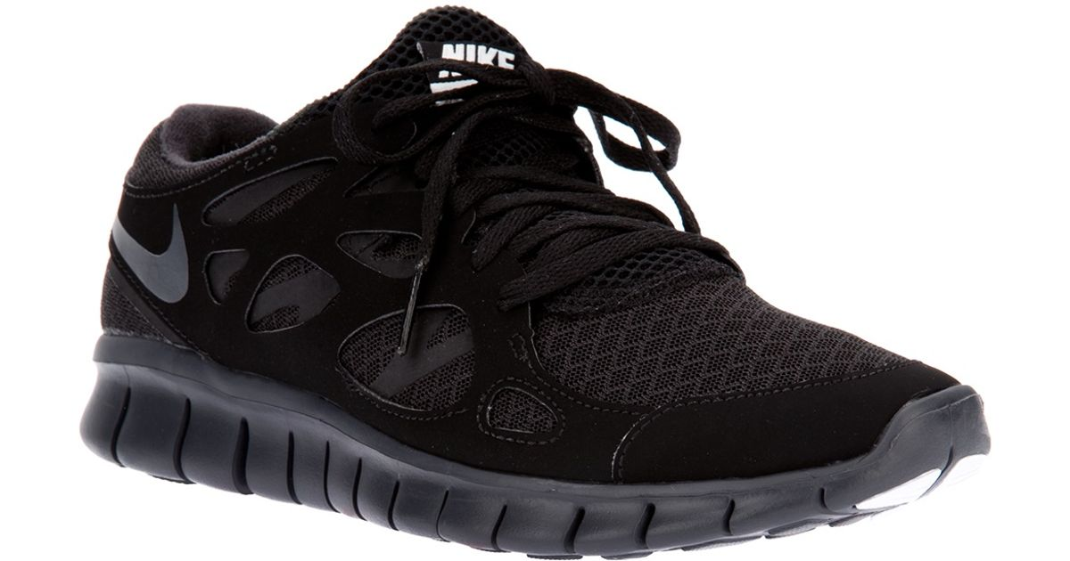 0b48e4d9073 ... italy lyst nike free run 2 nsw trainer in black for men cfef1 502ea