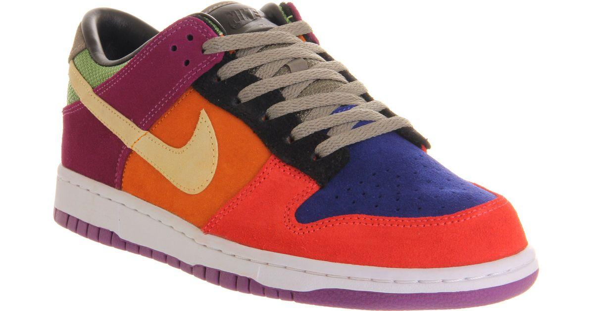 detailed look 00290 e60b8 Nike - Multicolor Dunk Low Sp Viotech Viotech for Men - Lyst