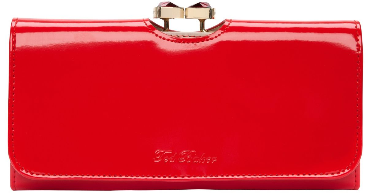 2b75a4e76b16f9 Ted Baker Red Wallet - Best Photo Wallet Justiceforkenny.Org