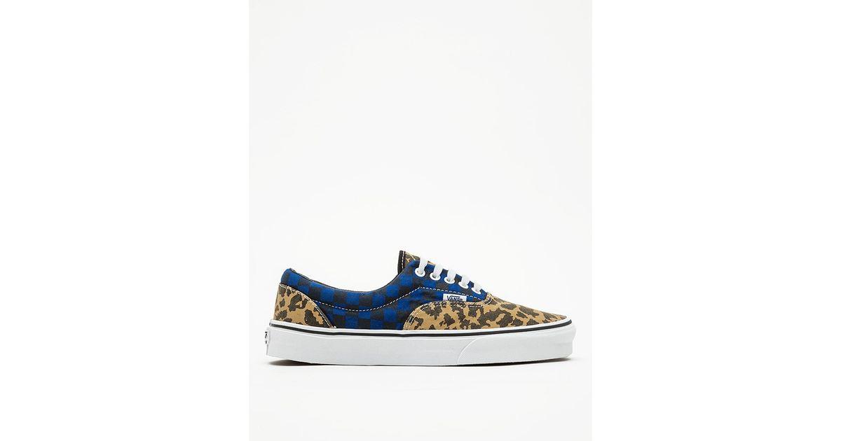 d4e809ea21 Lyst - Vans Van Doren Leopard Era in Blue for Men