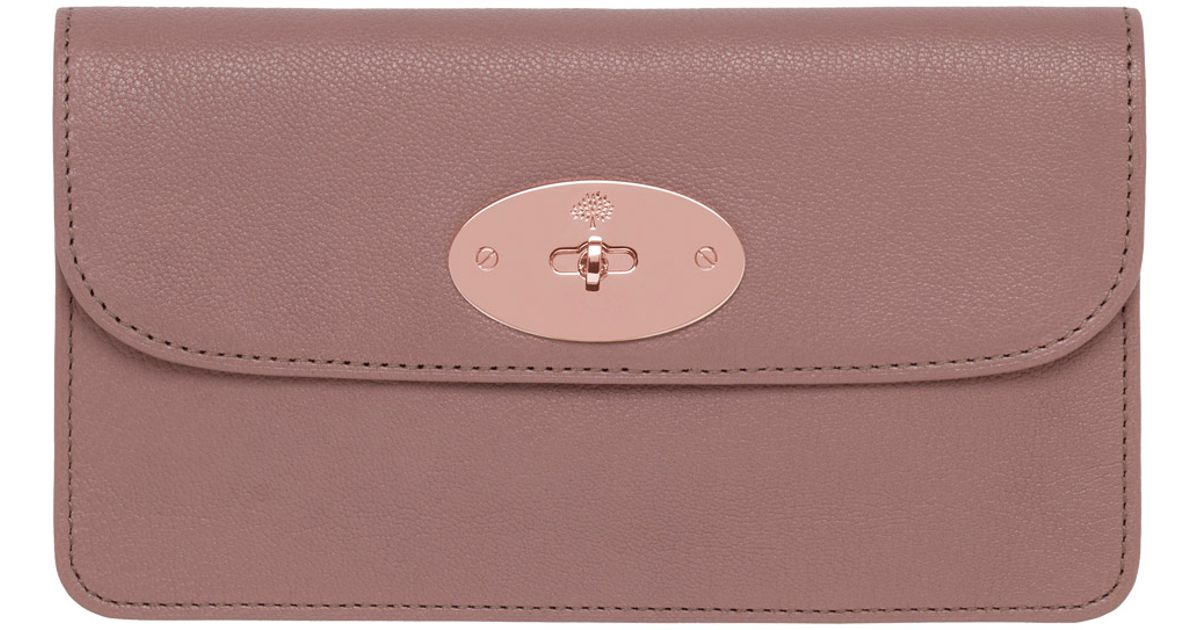 0bc9683949b sweden 8 card zip around wallet fluoro pink small classic grain women  mulberry ea68e bf291  australia lyst mulberry long locked purse in pink  8c674 06071
