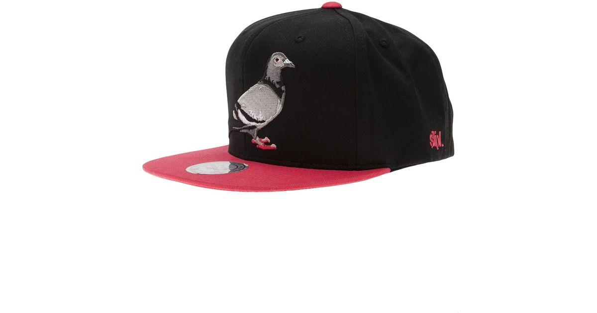 26878d321cfb6 Staple Pigeon Snapback in Black for Men - Lyst