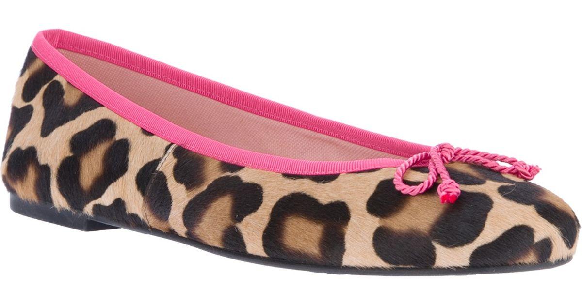ballerinas leopard print