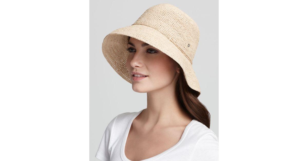 Lyst Helen Kaminski Provence 8 Raffia Hat In Natural 05ff399af3e5
