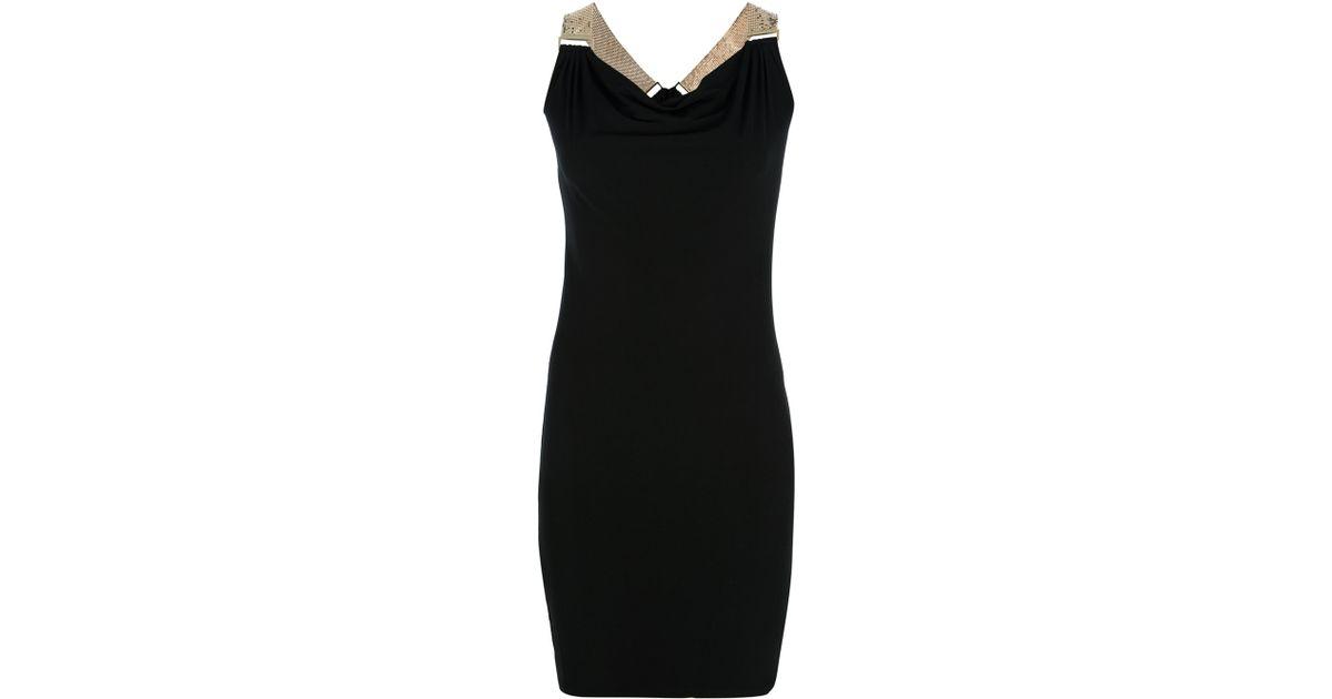 Lyst - Michael Michael Kors Sleeveless Evening Dress in Black