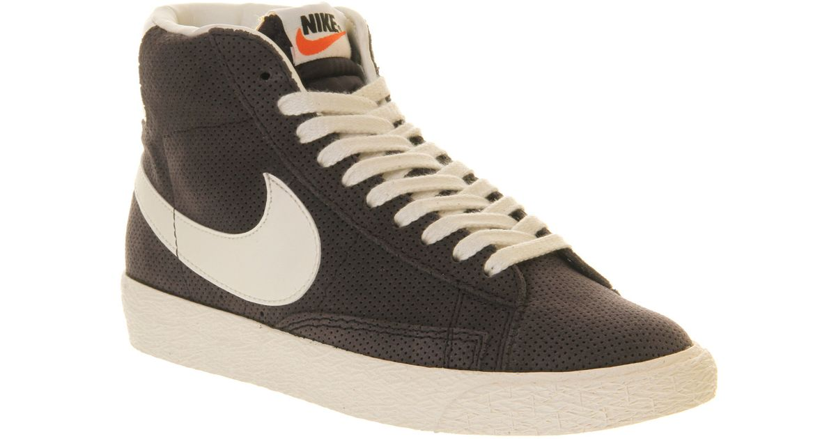 5825c634584b ... free shipping lyst nike blazer hi suede vintage blueprint sail perf in  brown for men a1ad5 ...