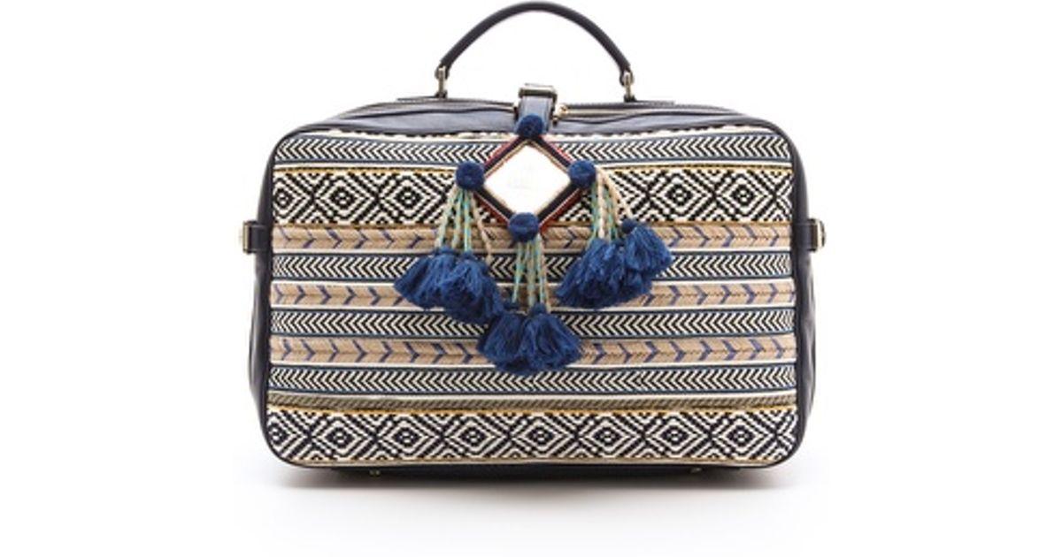 Lyst - Tory Burch Priscilla Mochila Suitcase in Blue